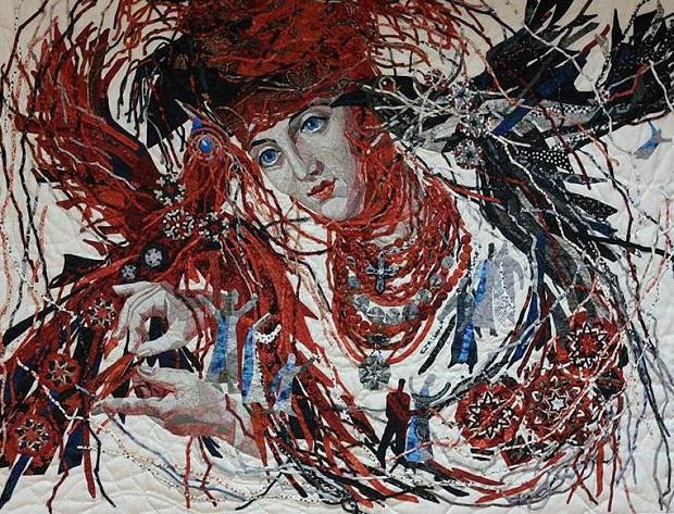 Наталя Лашко. «Два кольори» (арт-квілт)