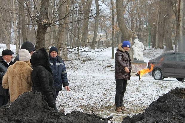 Парк Героїв Євромайдану. Нафтопродукти