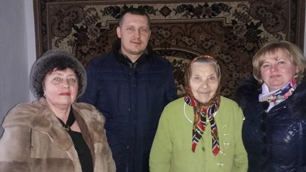 Єфросинія Денисюк з гостями