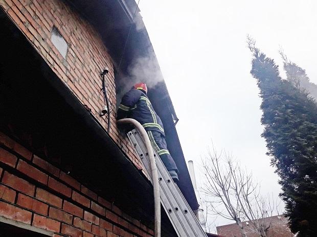 Пожежа в Хмельницькому (13.02.2019)