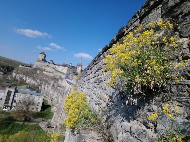Кам'янець-Подільський. Старий замок. Туристичний сезон 2020